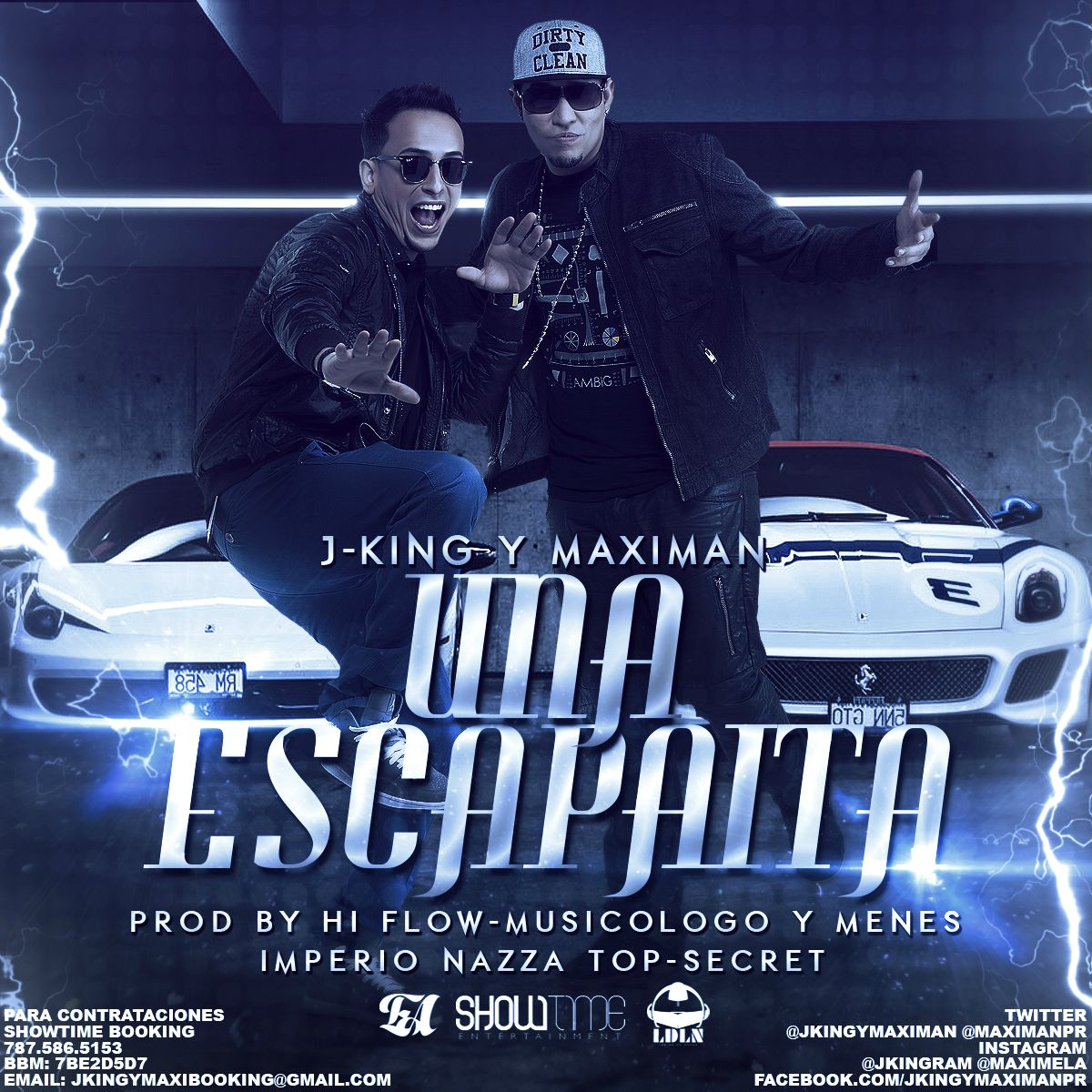 J King Y Maximan – Una Escapaita (Prod. By Musicologo Y Menes) (Imperio Nazza Top Secret)