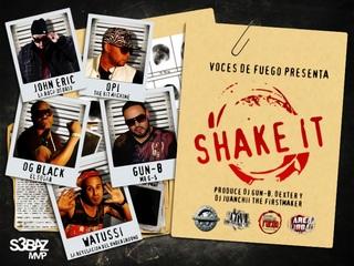 Opi The Hit Machine Ft. John Eric, Watussi, OG Black Y Gun-B – Shake It