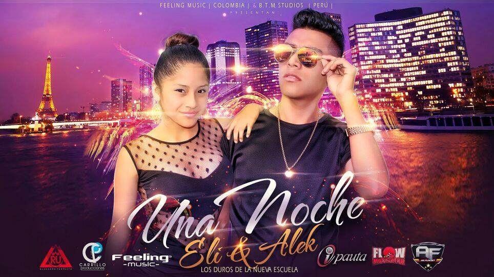 Cover Promocional:Eli & Alek – Una Noche