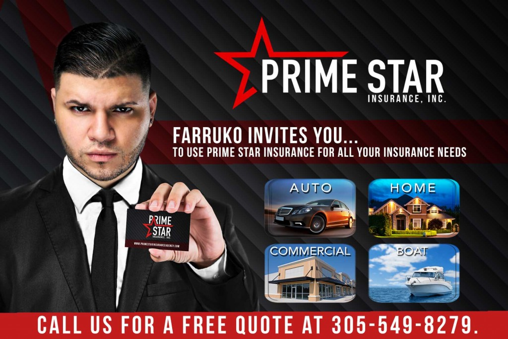 Farruko Prime Star Insurance 1024x683 - Guelo Star Ft El Betta - Pide Más