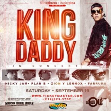 king 370x370 - Daddy Yankee anuncia invitados para su concierto en el Madison Square Garden