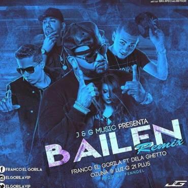 38e4tr6 - Franco El Gorila Ft. De La Ghetto, Ozuna Y Luigi 21 Plus - Bailen (Official Remix)