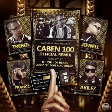 Trebol Clan Ft. Akilez, Jowell & Franco El Gorila – Caben 100 (Official Remix)
