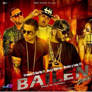 bailen 370x370 - Cover: Franco El Gorila Ft. De La Getto, Ozuna y Luig-21 - Bailen (Remix)