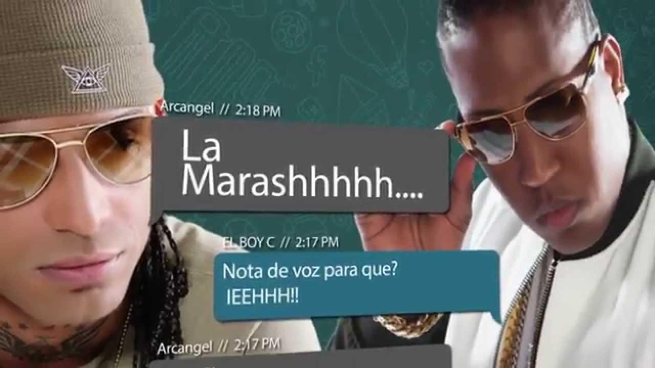 el boy c ft arcangel mensaje de - El Boy C Ft. Arcangel – Mensaje De Texto (Video Lyric)