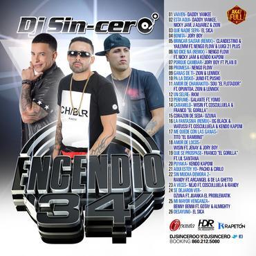 DJ Sincero – Encendio 34 (2015)