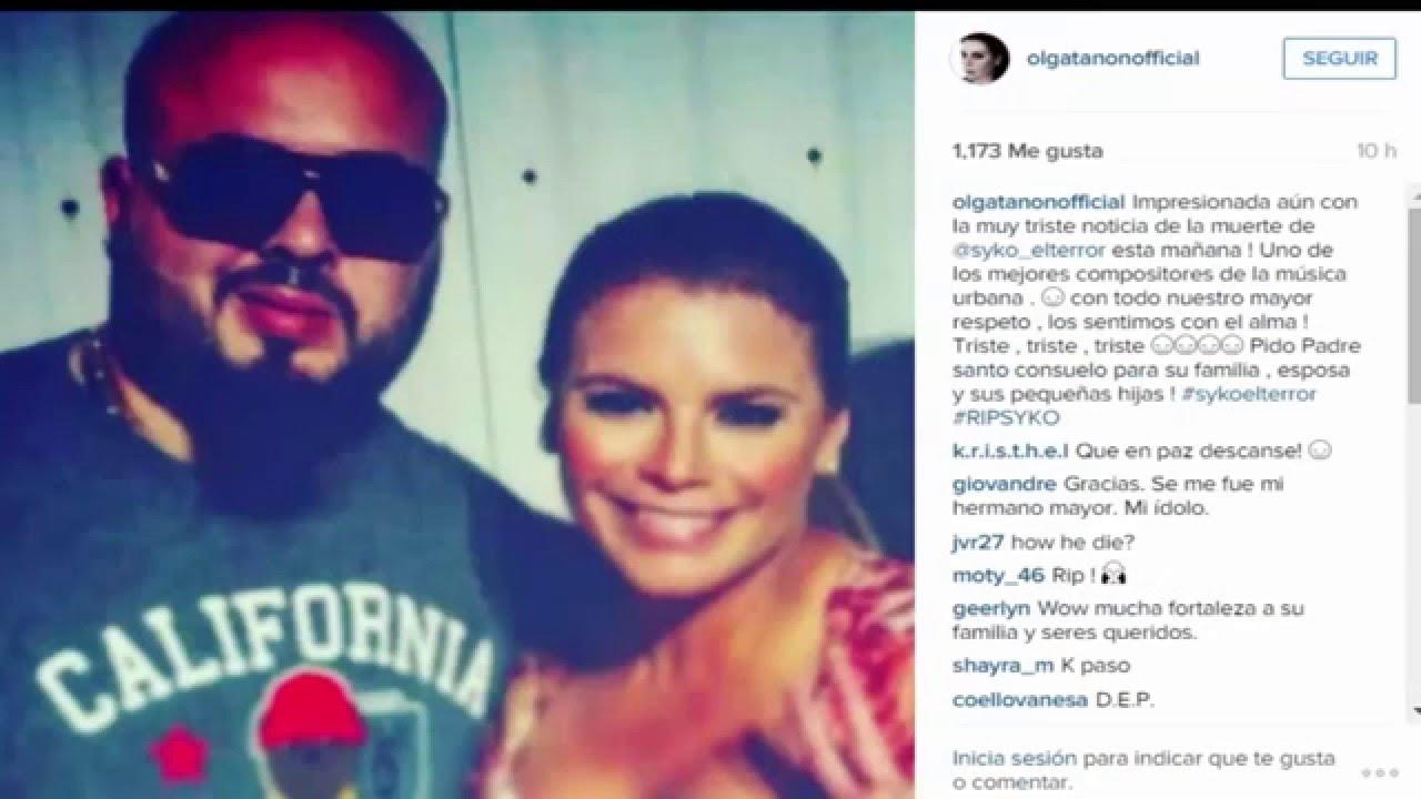 """don omar daddy yankee olga tanon - Don Omar, Daddy Yankee, Olga Tañon, J Balvin, Yandel y más Colegas Se despiden de Syko """"El Terror"""""""