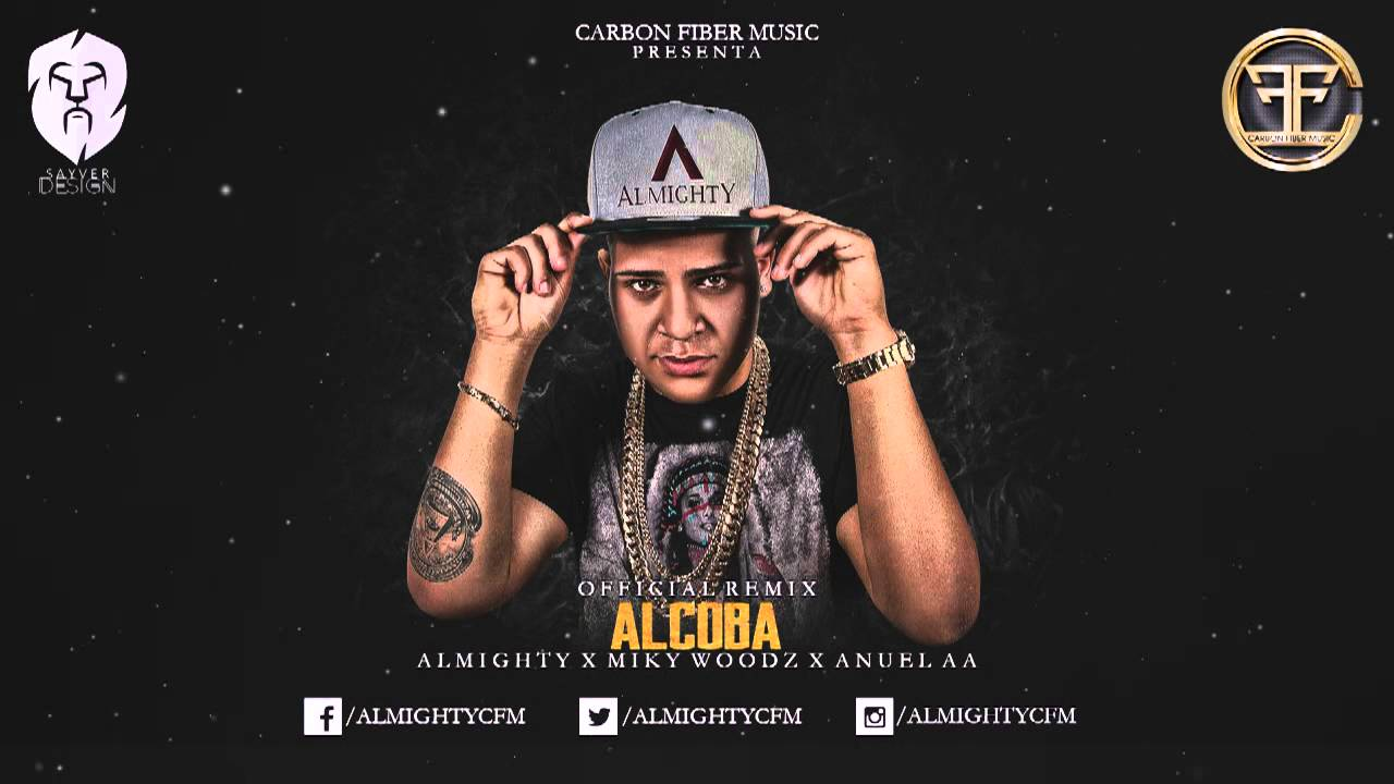 miky woodz ft almighty y anuel a - Miky Woodz Ft. Almighty Y Anuel AA - Alcoba Remix (Preview 2) (Carbon Fiber Music)