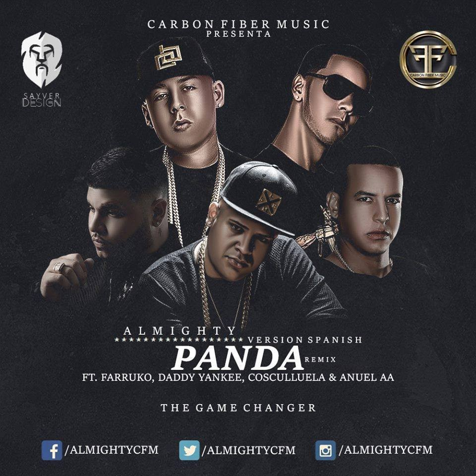 farruko ft almighty daddy yankee - Farruko Ft. Almighty, Daddy Yankee, Cosculluela Y Anuel AA - Panda (Official Remix) (Preview)