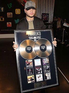 DICSOO - Farruko es disco de oro y doble platino