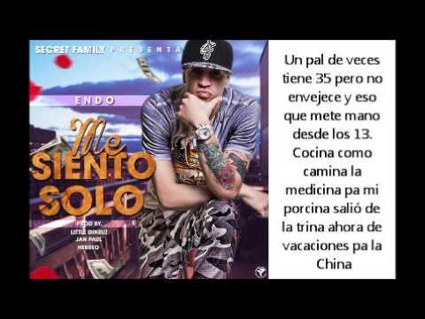 Endo – Me Siento Solo (Video Lirics)