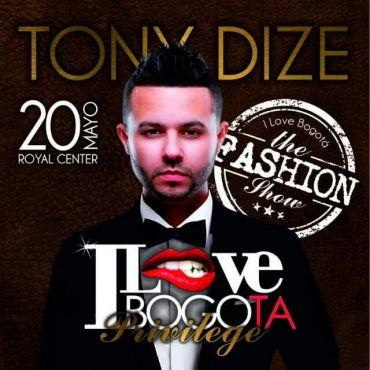 1461976269tonydizelo - Evento: Tony Dize – I Love Bogota Privilege (Viernes 20 De Mayo)