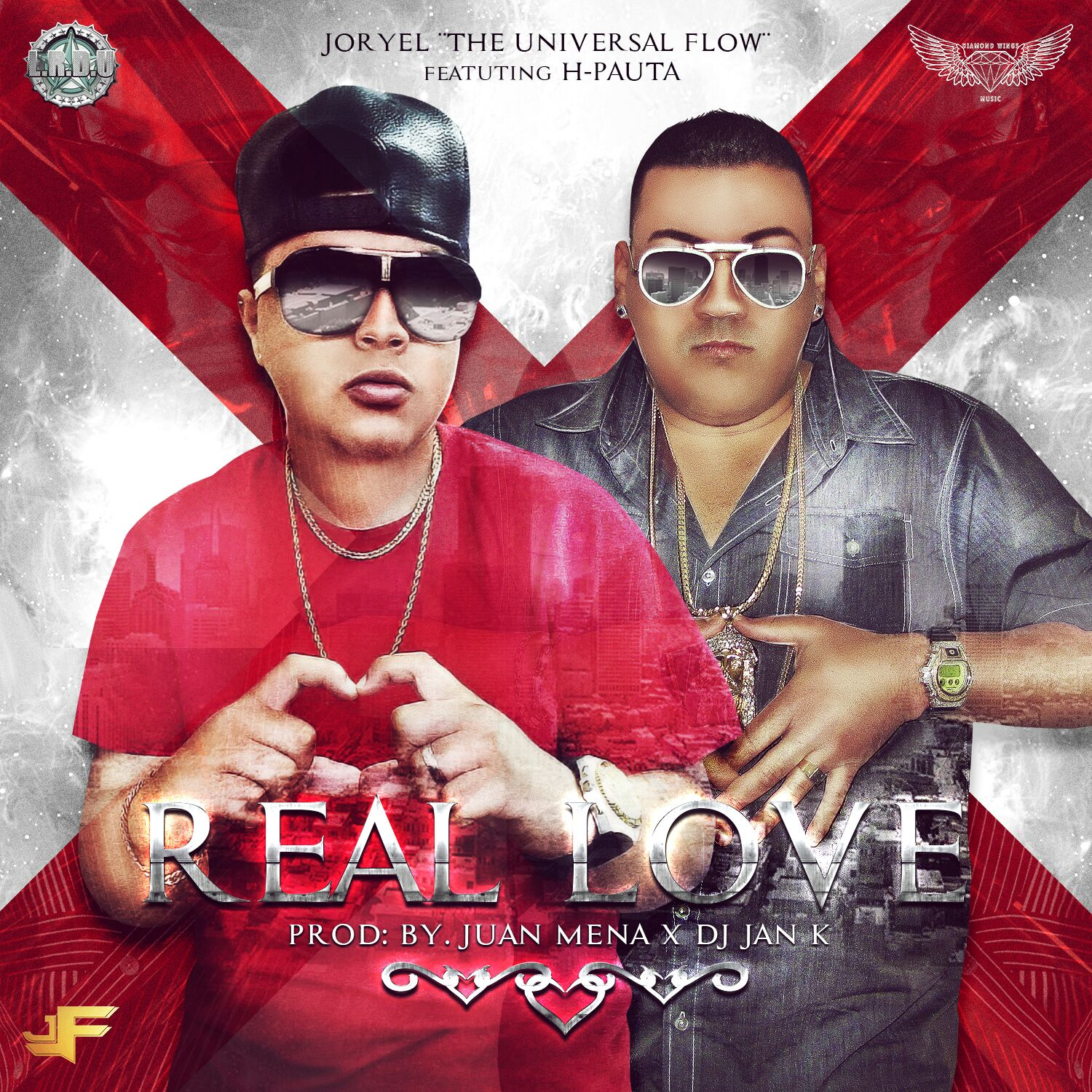 Real Love Art - Joryel The Universal Flow Ft. H Pauta - Real Love