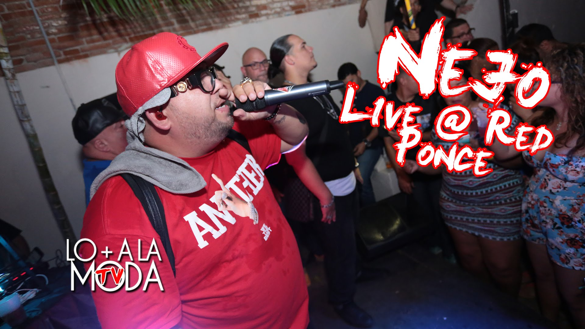 nejo red ponce puerto rico live - Ñejo – Red (Ponce, Puerto Rico) (Live 2016)