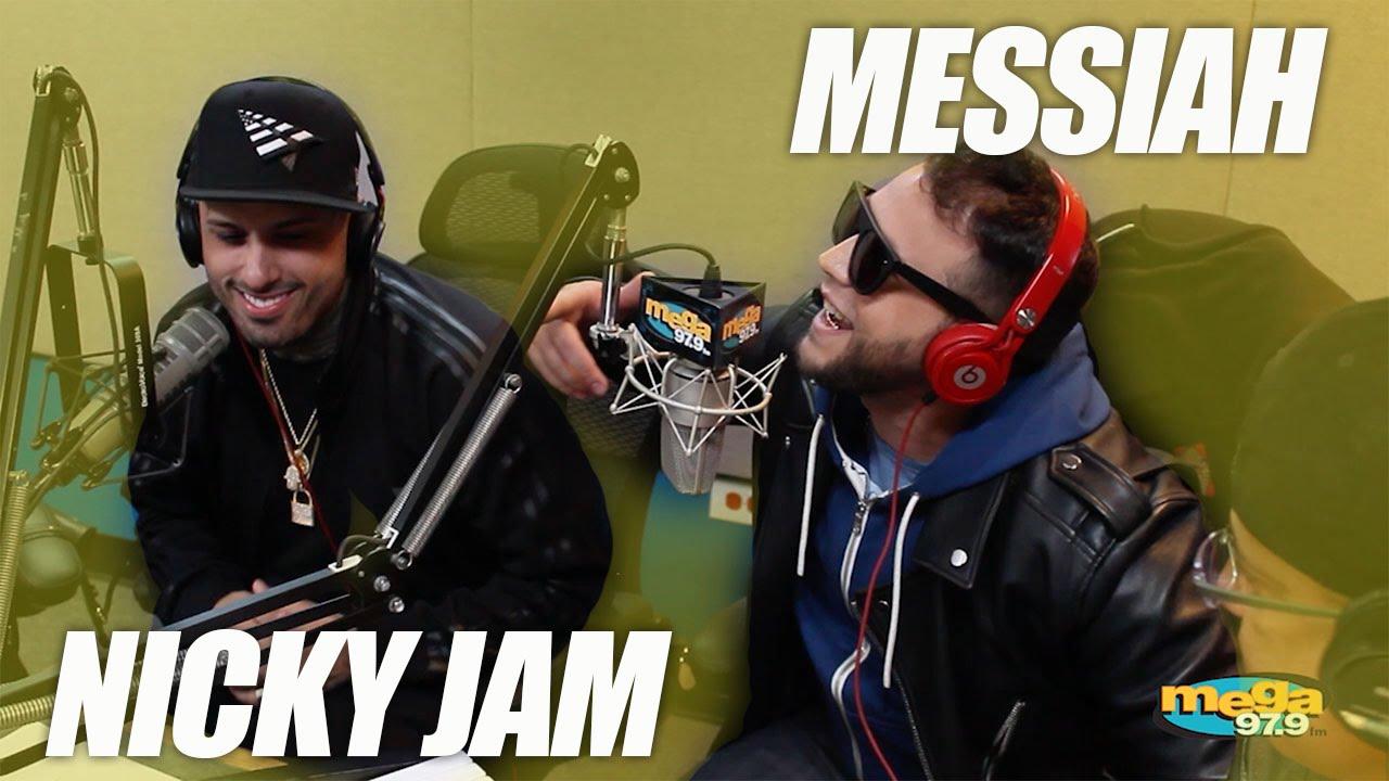 nicky jam y messiah mega 97 9 en - Nicky Jam y Messiah - Mega 97.9 (Entrevista)