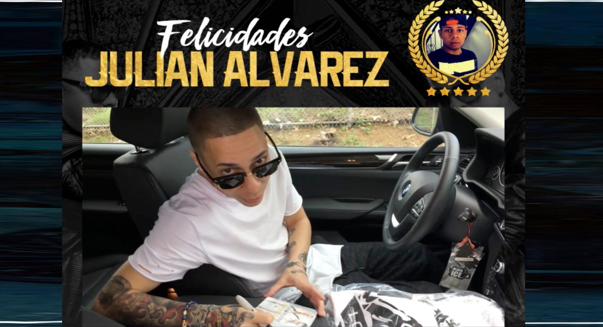 """fan 1 del mes de abril ganador j - Fan #1 del Mes de Abril - Ganador """"Julian Alvarez"""", Baby Rasta y Gringo"""