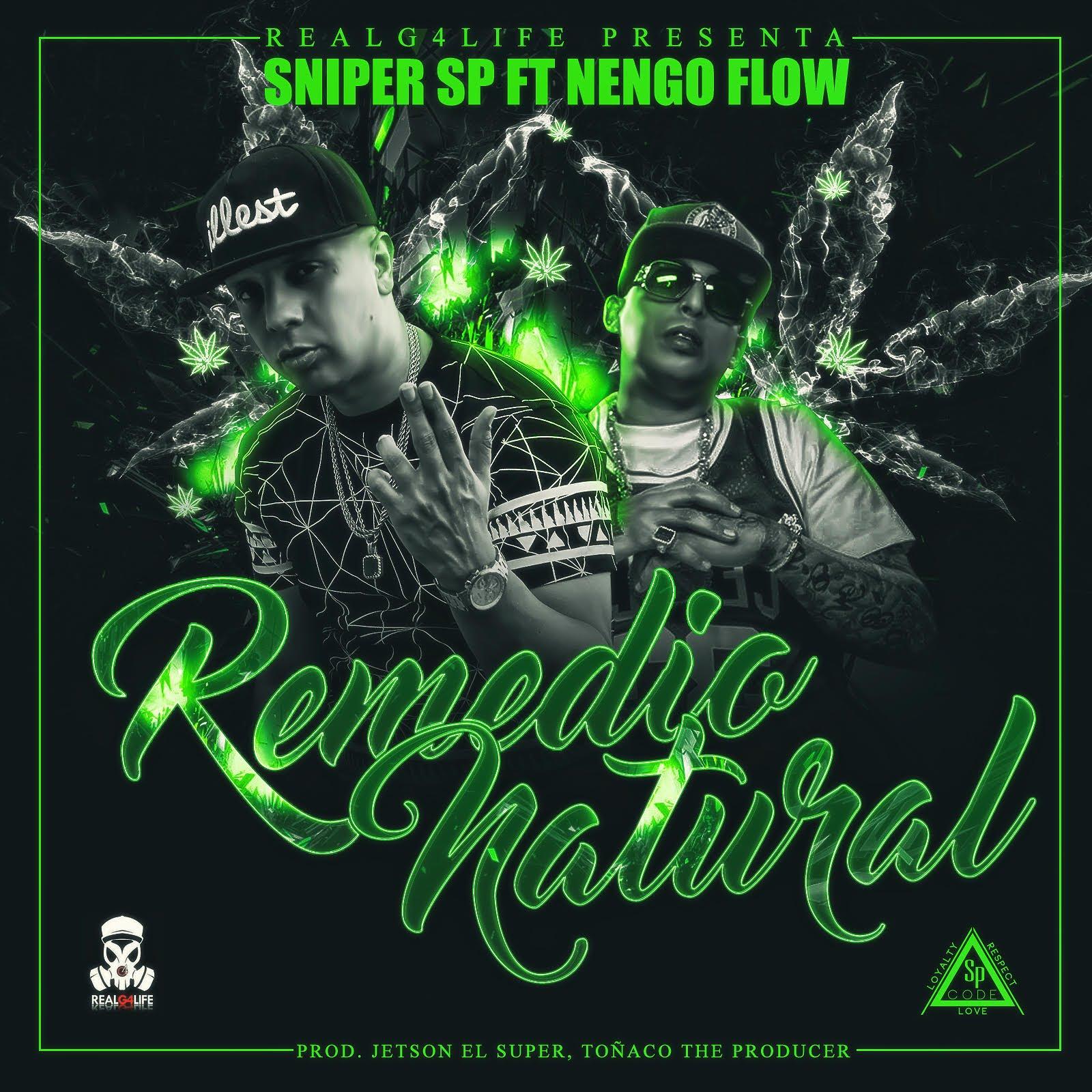 sniper sp ft nengo flow remedio - Sniper SP Ft. Nengo Flow – Remedio Natural (Video Lyric)