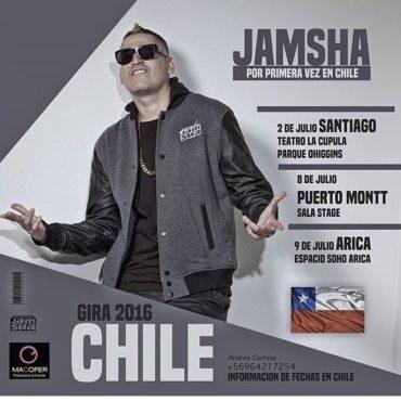 jamsha chile 370x370 - Jamsha por primera vez en Chile