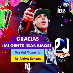 """Nicky Jam Gana Dos Estatuillas En Los Premios Juventud 2016 - Nicky Jam y J Balvin """"X"""" Premios Billboard"""