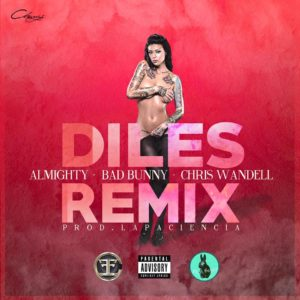 bad bunny ft almighty 300x300 - Cover: Bad Bunny Ft Almighty y Chris Wandell – Diles (Official Remix)