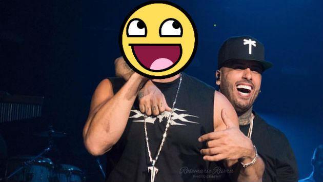 nicky jam vin diesel concierto e2f19 - Vin Diesel sorprendió a Nicky Jam en concierto