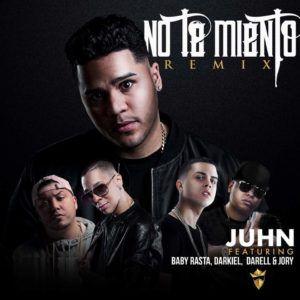 no te miento 300x300 - Juhn Ft Baby Rasta, Darkiel, Darell y Jory Boy – No Te Miento (Official Remix)