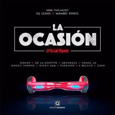"""lao - De La Ghetto, Arcangel, Ozuna, Anuel AA listos para soltar """"La Ocasión"""" (Remix) junto a Daddy Yankee, Nicky Jam y J Balvin"""