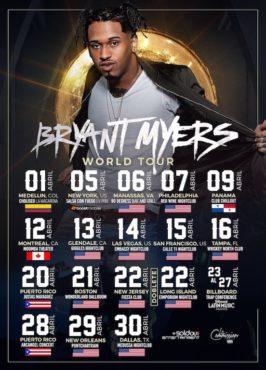 Bryant Myers anuncia su primera gira por Estados Unidos 266x370 - Magnate - La Primera Vez