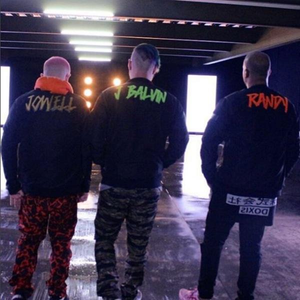 """Jowell - Jowell y Randy Grabando El Videoclip De """"Bonita"""" Junto A J Balvin"""