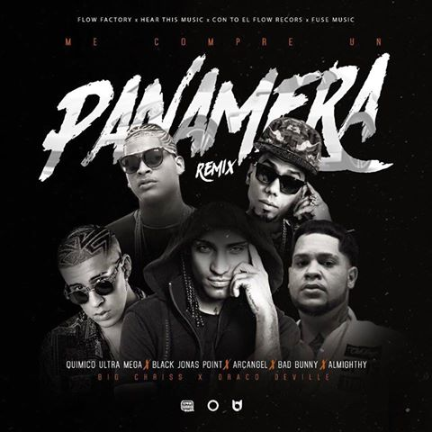 MECOMPRE - Quimico Ultra Mega Feat Black Jonas Point, Arcangel, Bad Bunny, Almighthy - Me Compre Un Panamera (RMX)