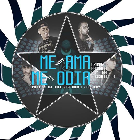 cover 1 - Ozuna Ft. Arcangel, Brytiago, Cosculluela - Me Ama, Me Odia (Party Mix)