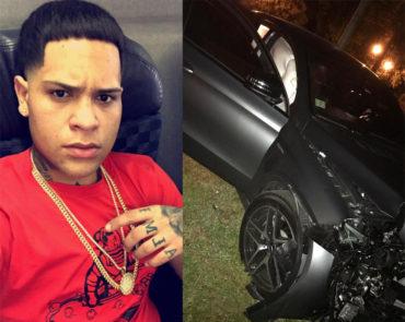 Almighty Sufre Accidente Automovilistico 370x295 - Ultimo minuto Baby Rasta sufre accidente en su carro
