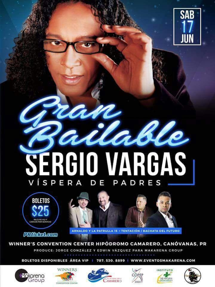 WhatsApp Image 2017 06 01 at 11.53.49 AM - Sergio Vargas En Vivo desde Puerto Rico, Evento para comemorar el dia de los Padres