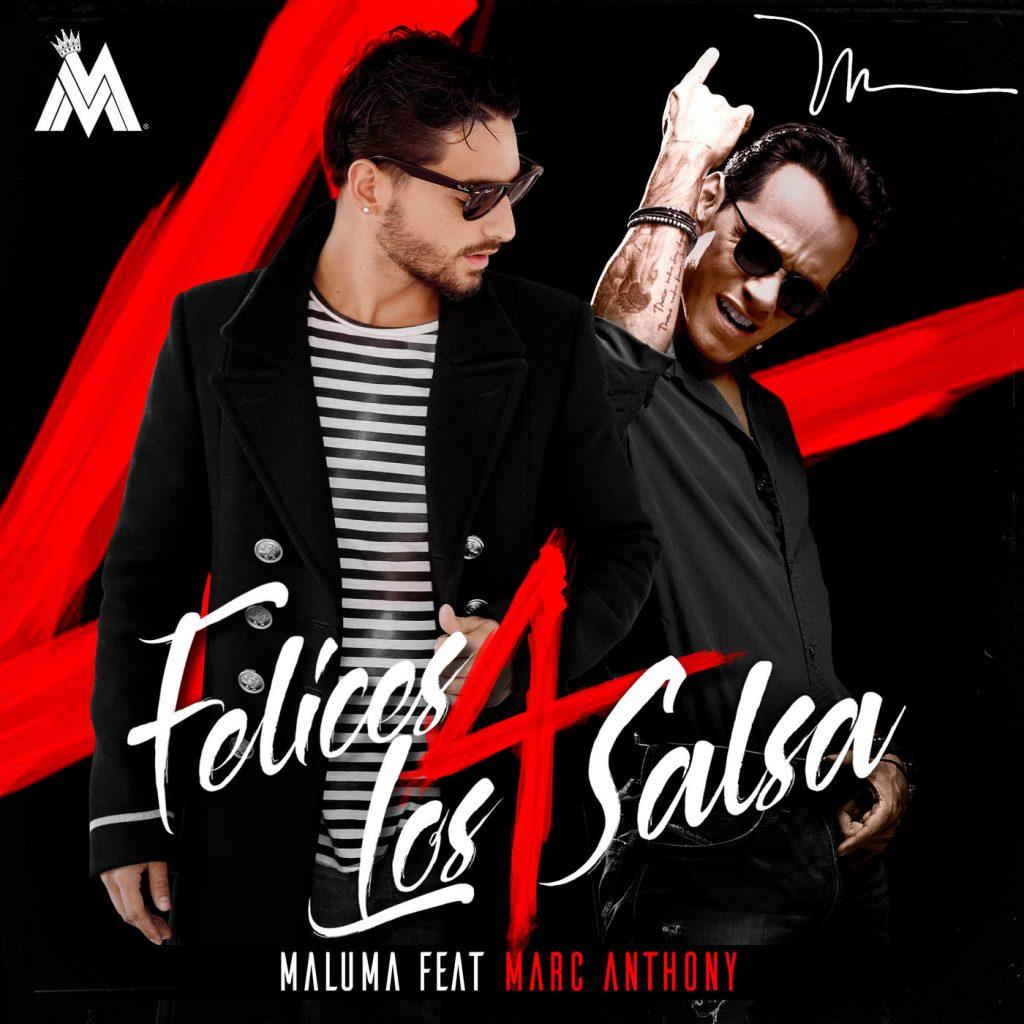 fe4 - Maluma Ft. Marc Anthony - Felices Los 4 (Salsa Version)