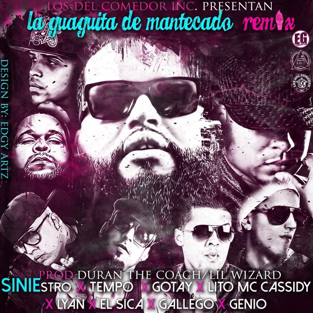 mante - Siniestro Ft. Tempo, Gotay, Lito MC Cassidy, Lyan, El Sica, Gallego y Genio - La Guaguita De Mantecado (Official Remix)