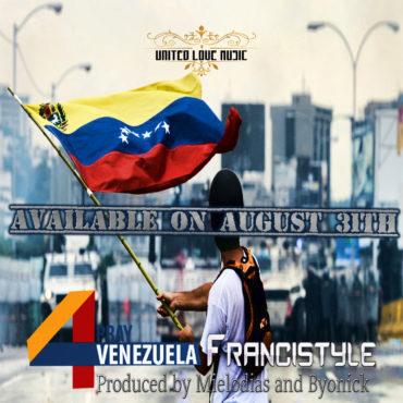 pray 4 redes agosto 370x370 - Francistyle Estrena Nueva Canción el 31 de Agosto