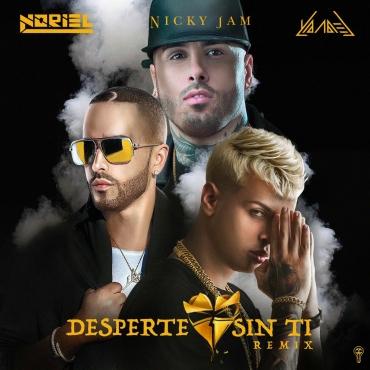 arte 4 - Noriel Ft. Nicky Jam y Yandel - Desperte Sin Ti (Official Remix)