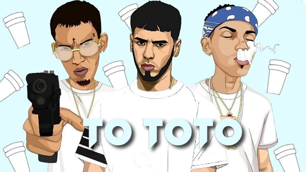 00. Mäuss Cover 5 - Anuel AA Ft Jon Z, Ele A El Dominio – To Toto