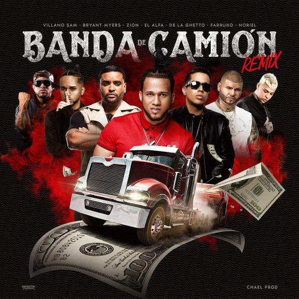 1510696468suzo7ue 1 3 - El Alfa Ft. De La Ghetto, Farruko, Villano Sam, Bryant Meyers, Zion Y Noriel – Banda de Camión (Official Remix)