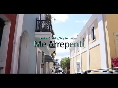 0 1202 - Andino Ft. Maldy, Ken-Y y Toby Love – Me Arrepentí (Official Video) (Detras De Camaras)