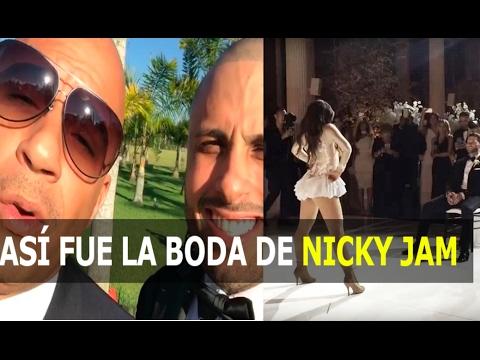 0 1444 - así fue la Boda de Nicky Jam