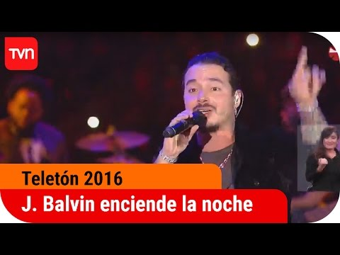 0 1634 - J Balvin @ Teleton Chile (2016)