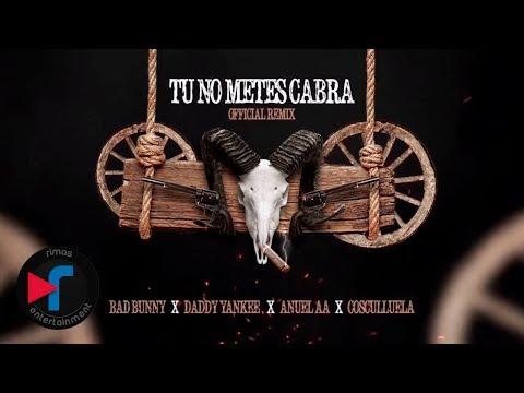0 317 - Bad Bunny Ft. Daddy Yankee, Anuel AA Y Cosculluela – Tu No Metes Cabra (Remix) (Video Lyric)