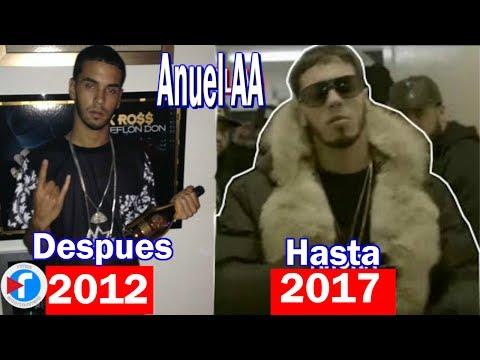 0 434 - Anuel AA Evolución Musical Desde 2012 Hasta 2017