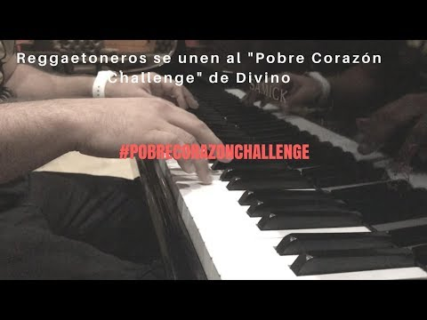 """0 612 - Reggaetoneros cantando su exito de Divino """"Pobre Corazón"""""""