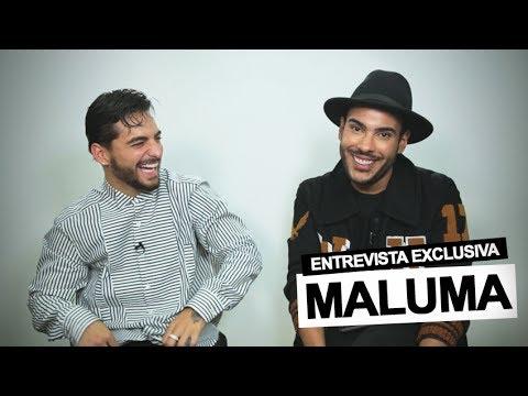 """0 947 - Maluma: """"Me gustaría hacer colaboraciones con Selena Gomez y Ariana Grande"""""""