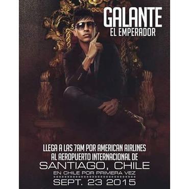 0RXwpHM - Por primera vez en chile Galante El Emperador El Dia 23 de septiembre