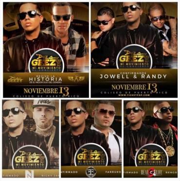 """1p3WWro - A solo un día de """"Mi Movimiento"""" el concierto de De La Ghetto en el Coliseo de Puerto Rico"""