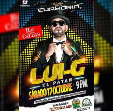 33inzoq - Evento: Luigi 21 Plus en Tulua, Colombia el 17 de octubre