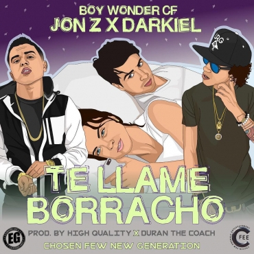 63e646c04f02eb1d8a9ae27c91f011175e4a32bf 8 - Jon Z Ft. Darkiel – Te Llame Borracho (Prod. High Quality y Duran The Coach)